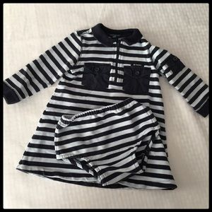 GAP Toddler Stripe Dress Set